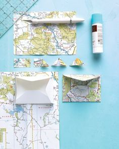Give the maps that guided you to favorite destinations a second life as scrapbook showstoppers.
