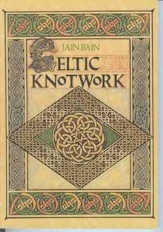 Book  Celtic Knotwork by Iain Bain by bluebirdsales on Etsy