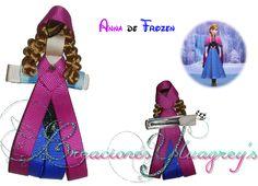 Escultura en cinta de la Princesa Anna de Frozen!!