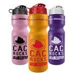 28 ounce Bike Bottles from http://www.schoolspiritstore.com/school-spirit-and-cheer-ideas/drinkware/