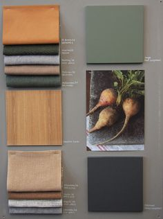 A moodboard is always an inspiration to interior design! Mood Board Interior, Interior Design Boards, Pantone Cards, Eduardo E Monica, Fabric Board, Fabric Display, Material Board, Mood And Tone, Apartment Ideas