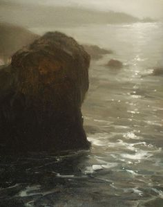 Garapatta Mist by Brian Blood - Oil