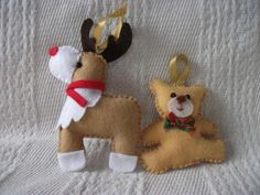 Dedeia Art Felt: Christmas Ornaments