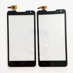 Nouveau Écran Tactile Pour Prestigio MultiPhone 5044 PAP5044 Duo PAP 5044 Écran Tactile Digitizer Façade En Verre + 3 m autocollant