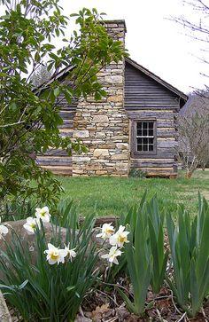 Cabin In Spring - Barnardsville, North Carolina
