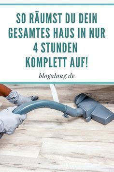 Gewusst wie: So schnell kannst du dein Haus aufräumen You can clean up your house so quickly! # cleaning clean up out life Deep Cleaning Tips, House Cleaning Tips, Spring Cleaning, Cleaning Hacks, Diy Hacks, Bedroom Cleaning, Apartment Cleaning, Daily Cleaning, Cleaning Checklist