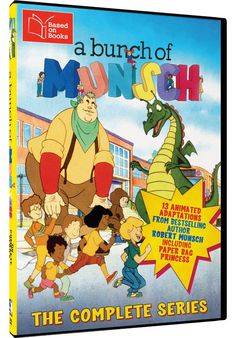 Bunch of Munsch: 13 Animated Stories: DVD