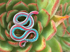 San Francisco Garter Snake Pin