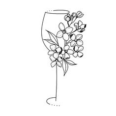 Flower Tattoo Designs, Tattoo Designs For Women, Tattoos For Women Small, Flower Tattoos, Small Tattoos, Wine Tattoo, Inkbox Tattoo, Hawthorne Flower, Tropical Tattoo