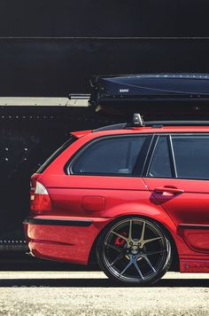 E46 Touring by CristianTodea Transportation Photography #InfluentialLime