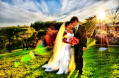 At Chaminade Resort & Spa there are so many beautiful locations for capturing your first moments as husband and wife. This location overlooks the Monterey Bay and rolling hills just above the city of Santa Cruz. (c) Neil Simmons Photography