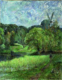 Il mulino della regina - Paul Gauguin