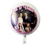 Full Color Foil Balloon Foil Balloons, Snow Globes, Screen Printing, Weddings, Color, Silk Screen Printing, Mariage, Colour, Wedding