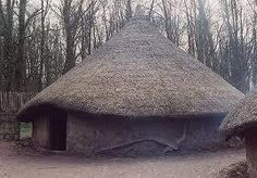 wattle and daub hut