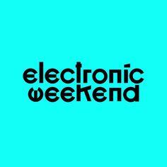 1 отметок «Нравится», 1 комментариев — Misha Karagezyan (@misha_karagezyan) в Instagram: «electronic weekend. Одна из предложенных опций логотипа для фестиваля электронной музыки и…»