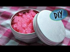 DIY Cotton Candy Lip Scrub! Lip Scrubs Pinterest Lip Scrubs