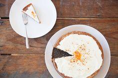 Flourless carrot cake with mascarpone frosting SUNDAY'S CAKE - BLEUBIRD