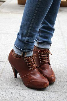 Olivia Molina, zapatos Kling // esos zapatos quedan tan lindos que quiero un par de estos ya!
