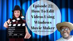 New Blog Post! Episode 22: How To Edit Videos Using Windows Movie Maker, Re-Pin if you get value -  http://www.whoiscarlton.com/episode-22-how-to-edit-videos-using-windows-movie-maker/