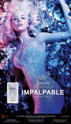 """Allison Harvard """"Impalpable"""" Perfume Ad"""