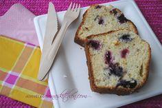 Plumcake ai frutti di bosco - Red fruits plumcake