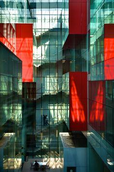 Caltrans bldg la architecture facades and facade lighting - Estudio arquitectura bilbao ...