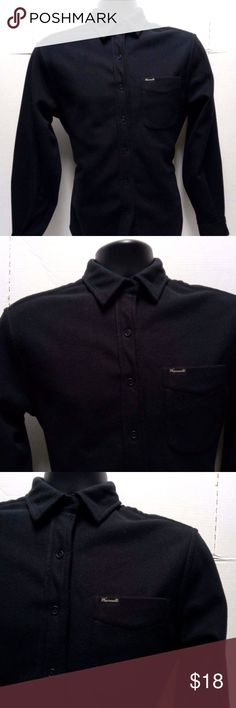 3e5f1a7ab Faconnable Mens Black Button Down Sweater Shirt M Welcome! Today we have a  Faconnable Sweater