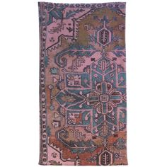 Rust Hand Towel 3 in stock. Fresco Towels Venetian Denizli Rug | Blue Leaf Houston