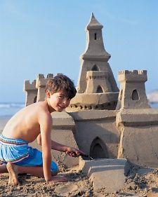 Build a sandcastle