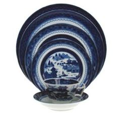 Mottahedeh - Blue Canton (Available at Michael C. Fina)