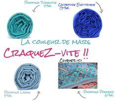 Les nouvelles couleurs à la mode et tendance pour ce printemps, la couleur bleu est ultra fashion pour les homme et les femmes.