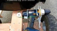 DIY Go Kart Powered by Drill Motor If you're looking for entertainment for the kids, but don't want to spend major coin on the markup that all toy manufacturers seem to have, then you can step into the footsteps of this dad who built his kid a go kart using nothing more than simple supplies. […]