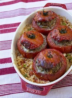 Stuffed Tomatoes In The Old Lady Coquillette Gourmet Cooking Recipes Fun Easy Recipes, Healthy Crockpot Recipes, Meat Recipes, Healthy Dinner Recipes, Cooking Recipes, Healthy Drinks, Clean Eating Chicken, Gourmet Cooking, Health Dinner