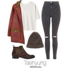 Horseback riding with Taehyung