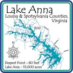 map of lake anna 13 Best Lake Anna Photos Images Lake Photo Porch Rules Sign map of lake anna