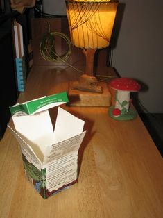 Container From Recycled Milk Carton : 7 Steps - Instructables Funky Gifts, Recycling, Milk, Container, Grandkids, Food, Essen, Meals, Upcycle