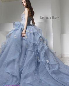 #couture #couturefashion #dress #bridal #weddingdress #fashion #ウェディングドレス #カラードレス #marryxoxo #プレ花嫁 #卒花嫁 #結婚式準備 #kiyokohata #キヨコハタ KH_0430