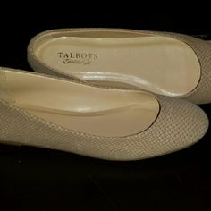 Talbots flats Like new condition. Soft to the touch Talbots Shoes Flats & Loafers
