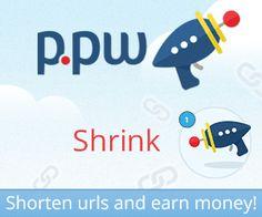 P.pw - Encurte urls e ganhe dinheiro!