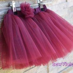 Fustita Tulle - Handmade With Love by Sew Violet Tulle, Sewing, Skirts, Handmade, Fashion, Moda, Dressmaking, Hand Made, Couture