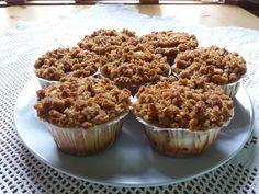#leivojakoristele #omenahaaste Kiitos Hennariina N. Apple Cheesecake, Muffins, Breakfast, Food, Morning Coffee, Muffin, Essen, Meals, Yemek