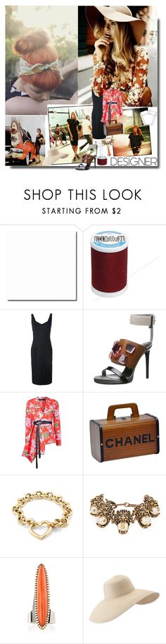 """Be Creative..."" by sue-mes ❤ liked on Polyvore featuring John Galliano, Area Di Barbara Bologna, Chanel, Tiffany & Co., Gucci, Mahnaz Ispahani and Eric Javits"
