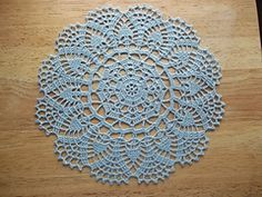 FREE PATTERN ~ C ~ Ravelry: Peony Doily pattern by Mom's Love of Crochet