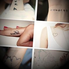 Confira de seguida vários exemplos de tatuagens naqueles que são considerados os melhores lugares para tatuagens femininas.