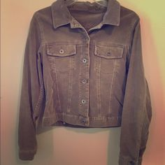 Silver Jeans Corduroy Jacket