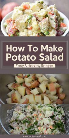 How To Make Potato Salad – Easy & Healthy Recipe♨http://recipe-world.net/how-to-make-potato-salad-easy-healthy-recipe/?i=p