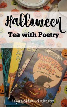 Halloween Tea With Poetry