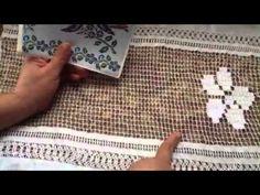 Explicación de deshilado tipo punto de cruz PARTE 1- YouTube