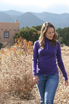 Merino wool base layers for women from WoolX clothing http://www.womensoutdoornews.com/2015/04/woolx-is-seeking-brand-ambassadors/ woolx-woman
