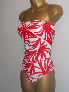 cffecc2768128 LADIES RED   WHITE KALEIDOSCOPE STRAPLESS SWIMSUIT SIZE 14 CONTROL SWIMWEAR   fashion  clothing  shoes  accessories  womensclothing  swimwear (ebay link)